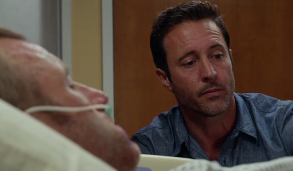 Danny, Steve hospital Hawaii Five-0