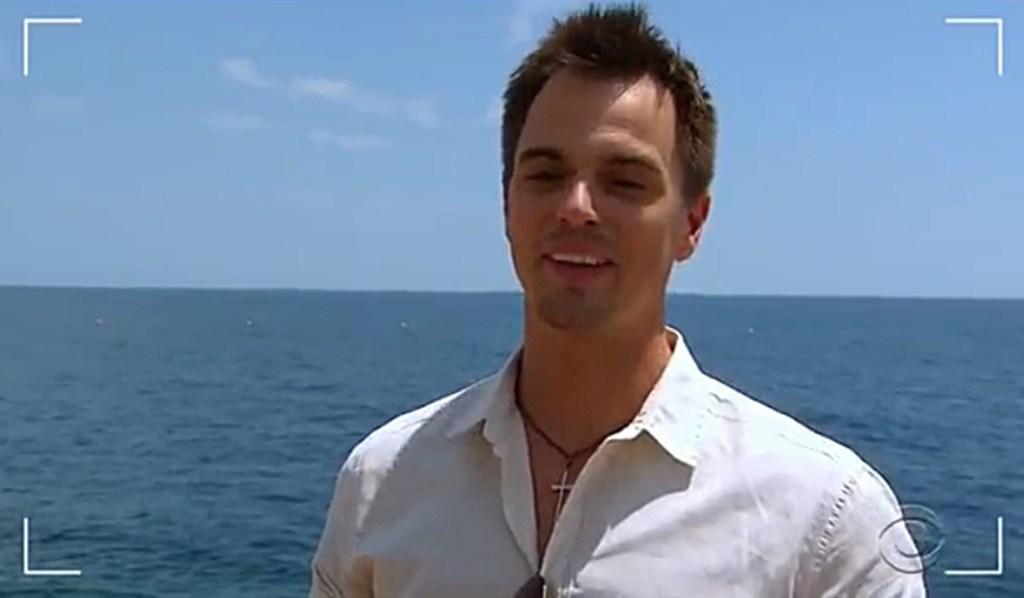 Darin Brooks as Wyatt on location yacht Bold and Beautiful