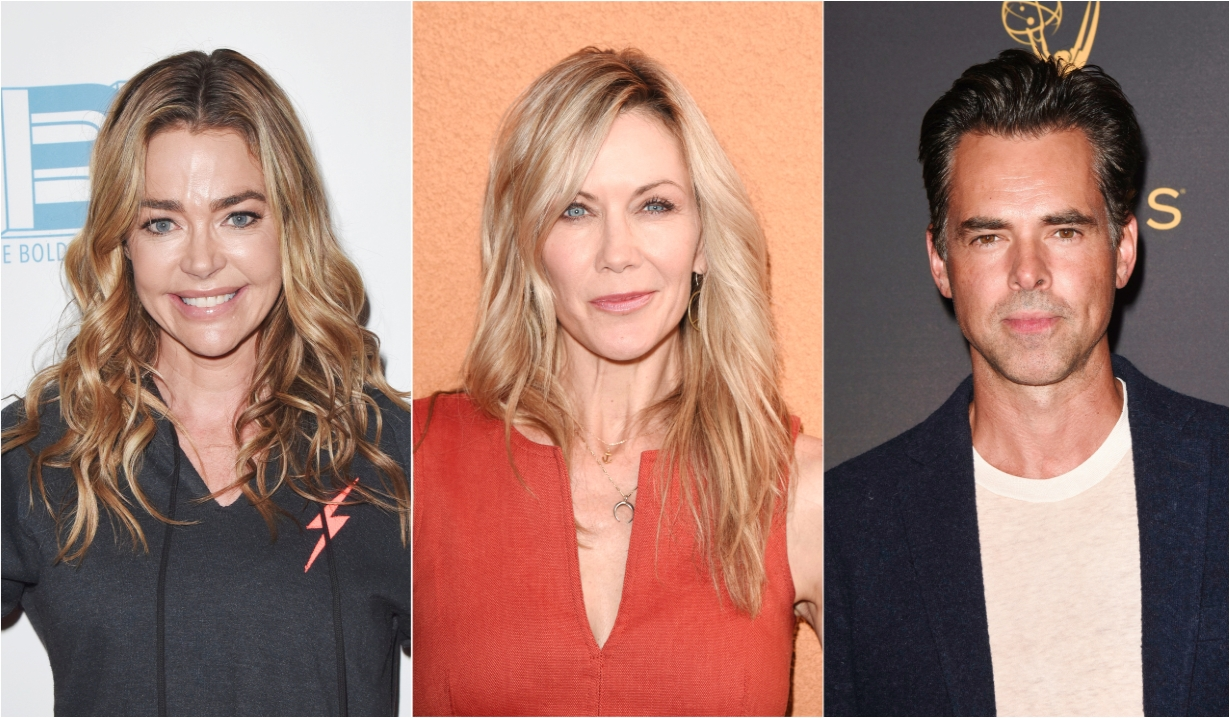 Denise Richards Stacy Haiduk Jason Thompson Days of our Lives General Hospital Bold and the Beautiful Young and the Restless