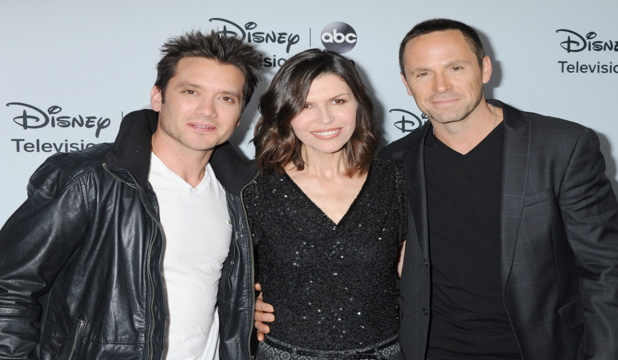 Dominic Zamprogna, Finola Hughes, William deVry Disney/ABC Television Group 2014 Winter Press Tour Party The Langham Huntington, Pasadena