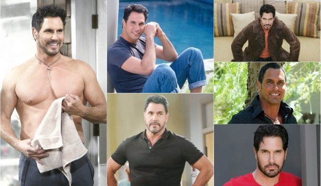 Don Diamont collage Bold and Beautiful, Young and Restless