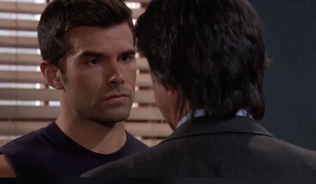 Finn tells Chase to fix things with Willow on General Hospital