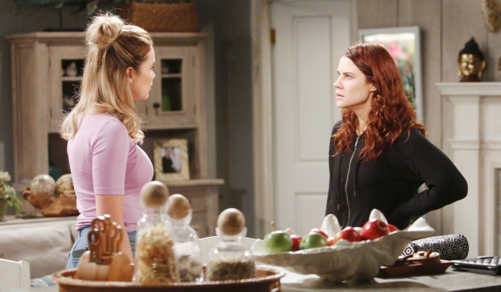 Flo, Sally square off Bold and Beautiful