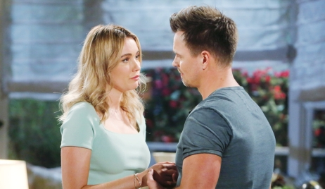 Flo, Wyatt ask Sally move out Bold and Beautiful