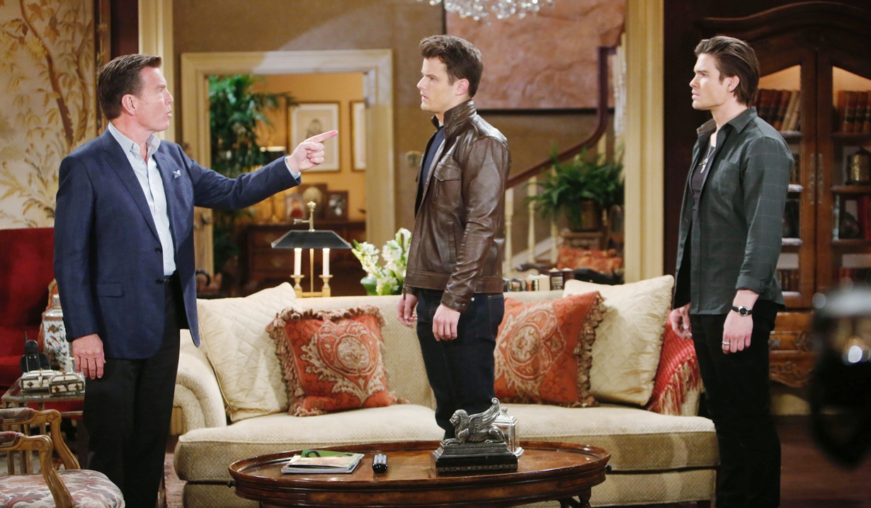 Jack, Kyle, Theo on notice Young and Restless