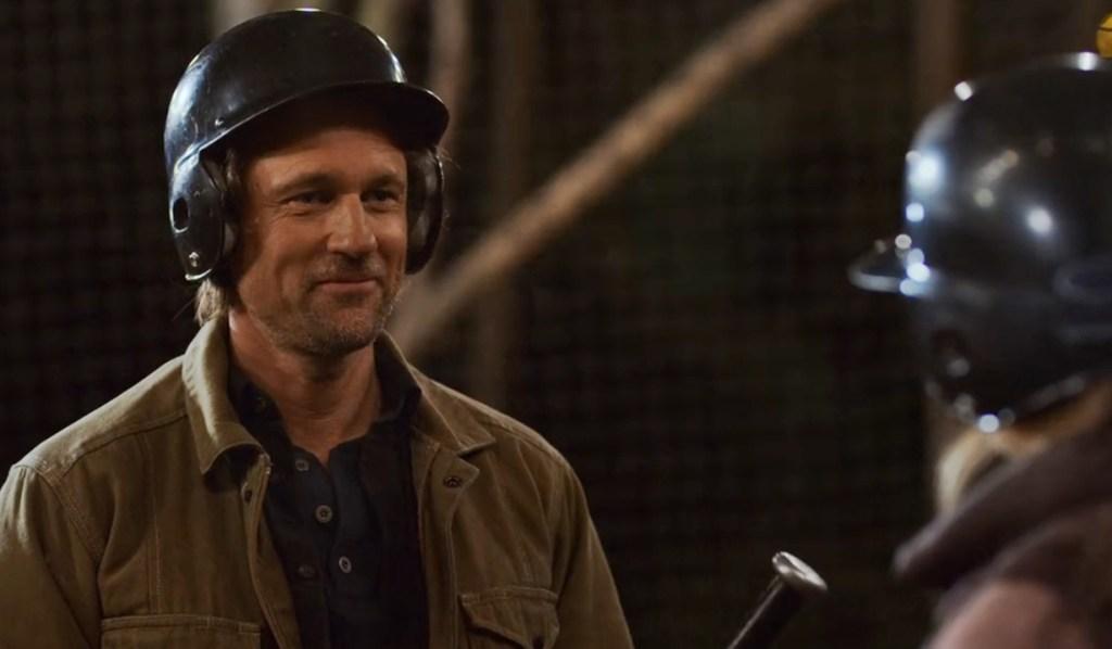 Jack, Mel batting cage Virgin River