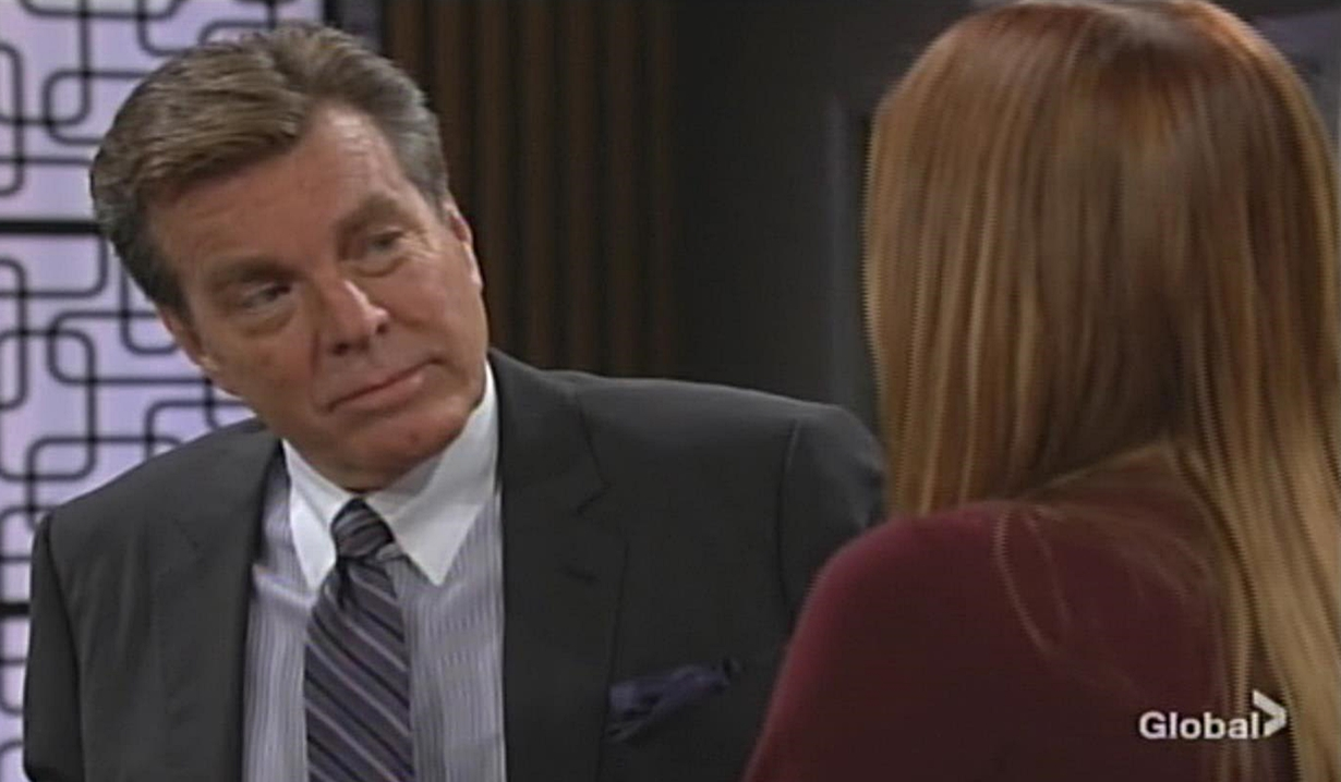 Jack, Phyllis discuss Theo Young and Restless