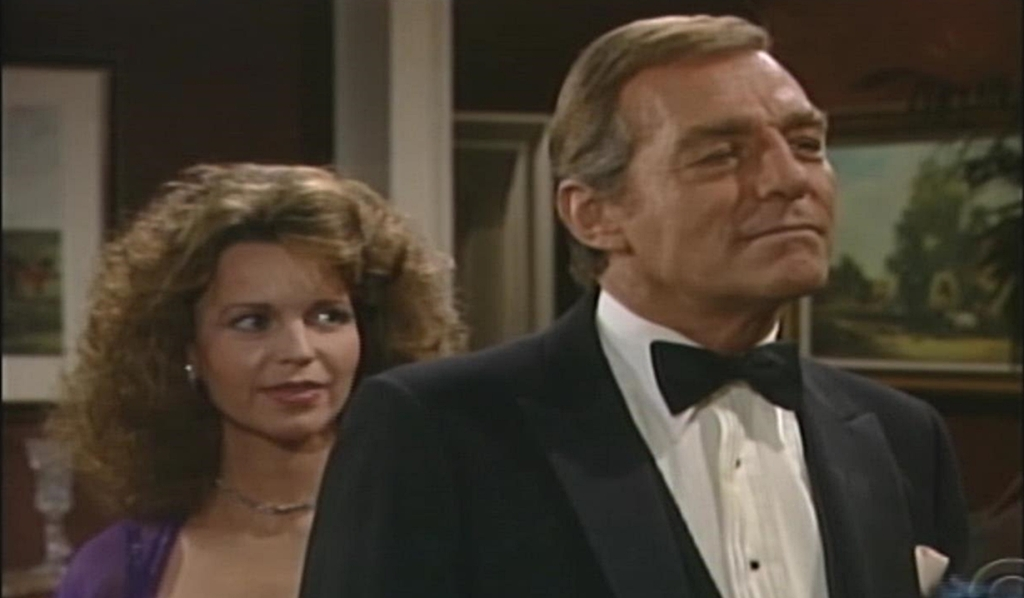 Jill and John Abbott wedding Young and Restless