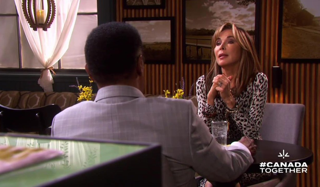 kate interviews with abe days of our lives