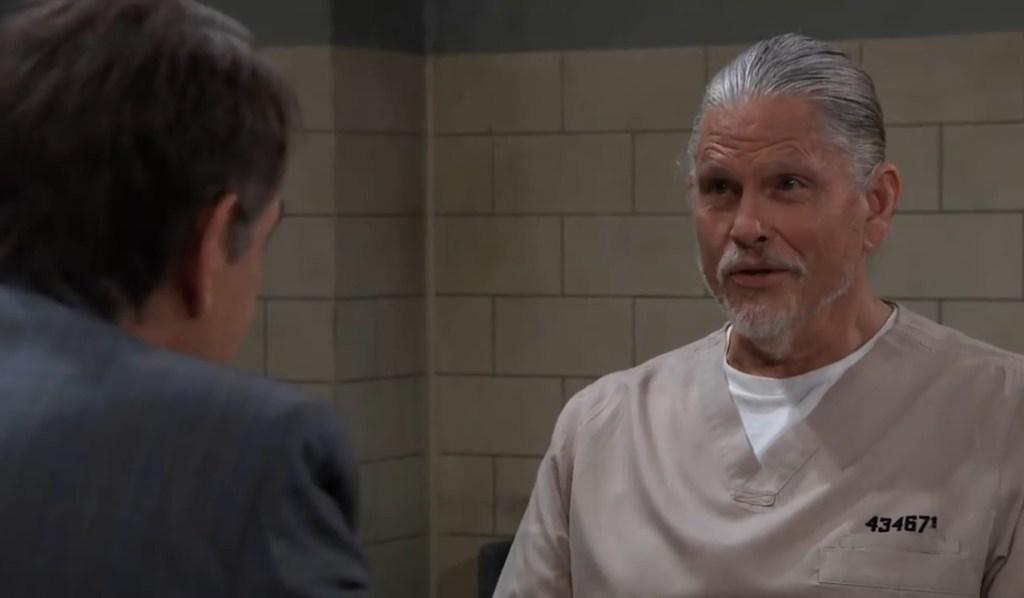 Kevin and Cyrus talk threats at Pentonville General Hospital