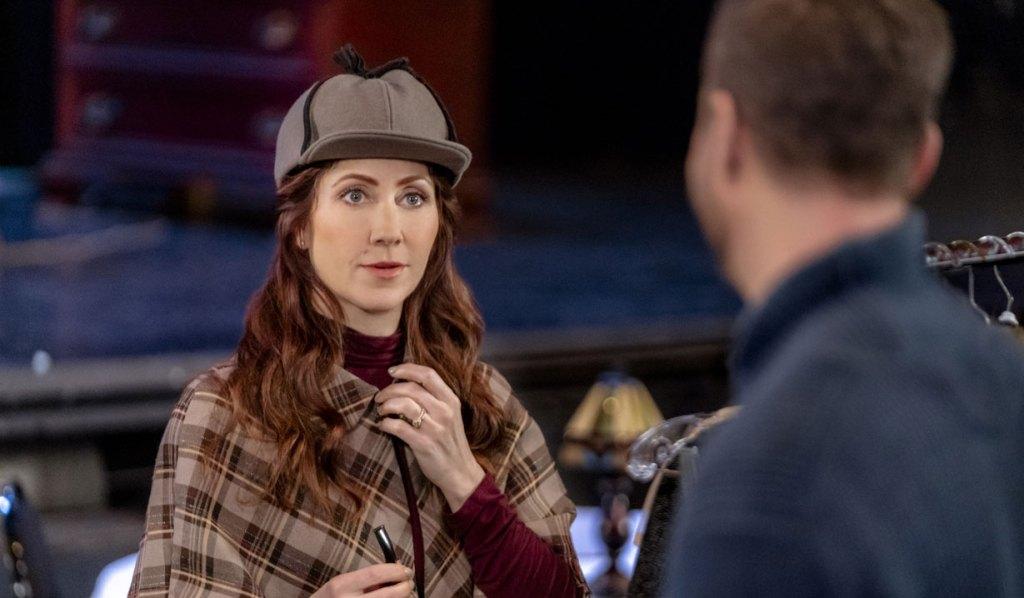 Lynn dressed for play aurora teagarden very foul play