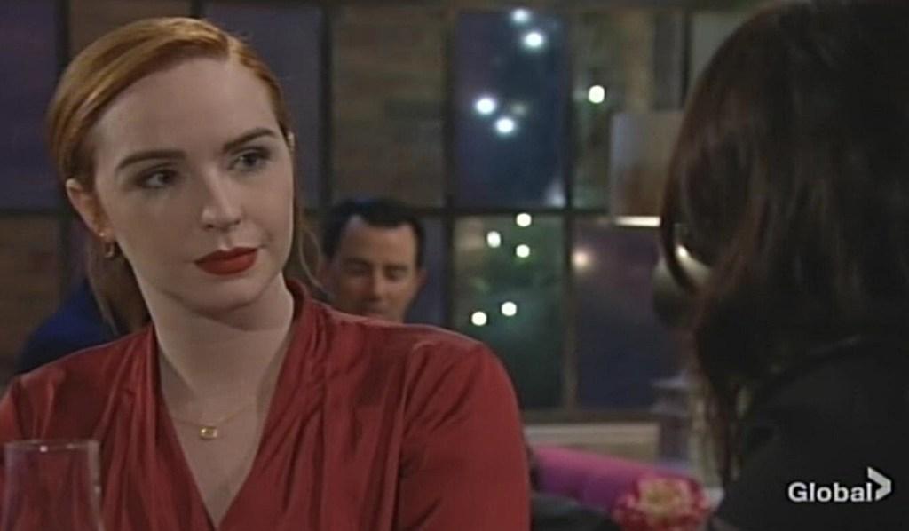 Mariah Tessa discuss Lindsay Young and Restless