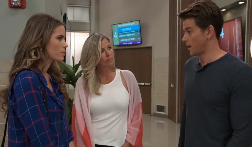 Michael Sasha and Carly talk Wiley's future at General Hospital