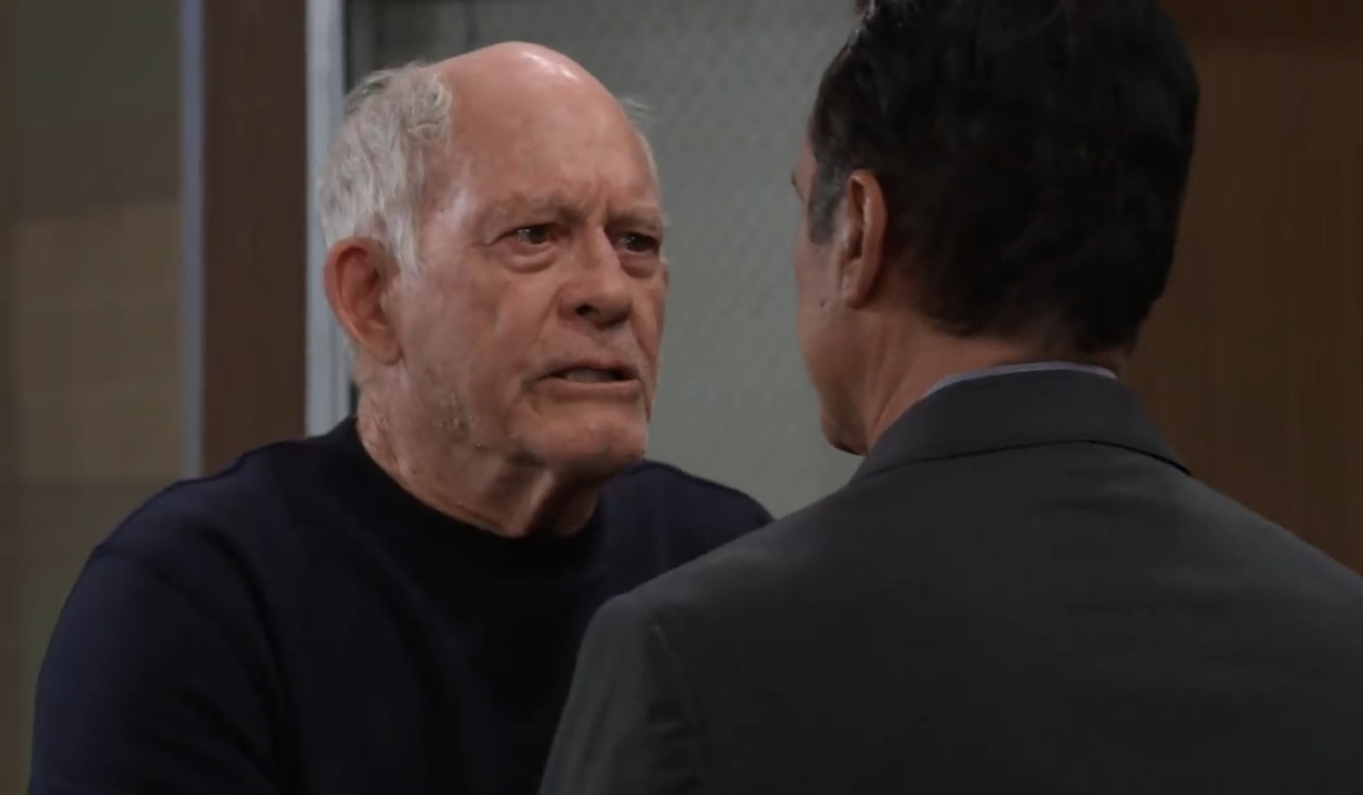 Mike has a request for Sonny at General Hospital