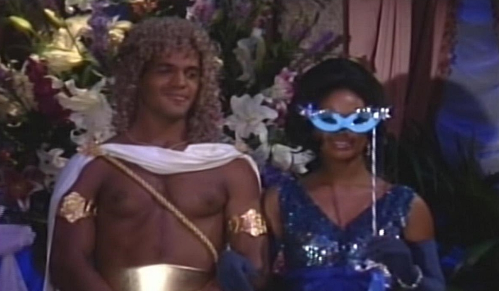 Neil and Olivia masquerade ball Young and Restless
