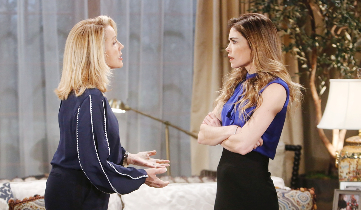 Nikki, Victoria discuss Victor Young and Restless