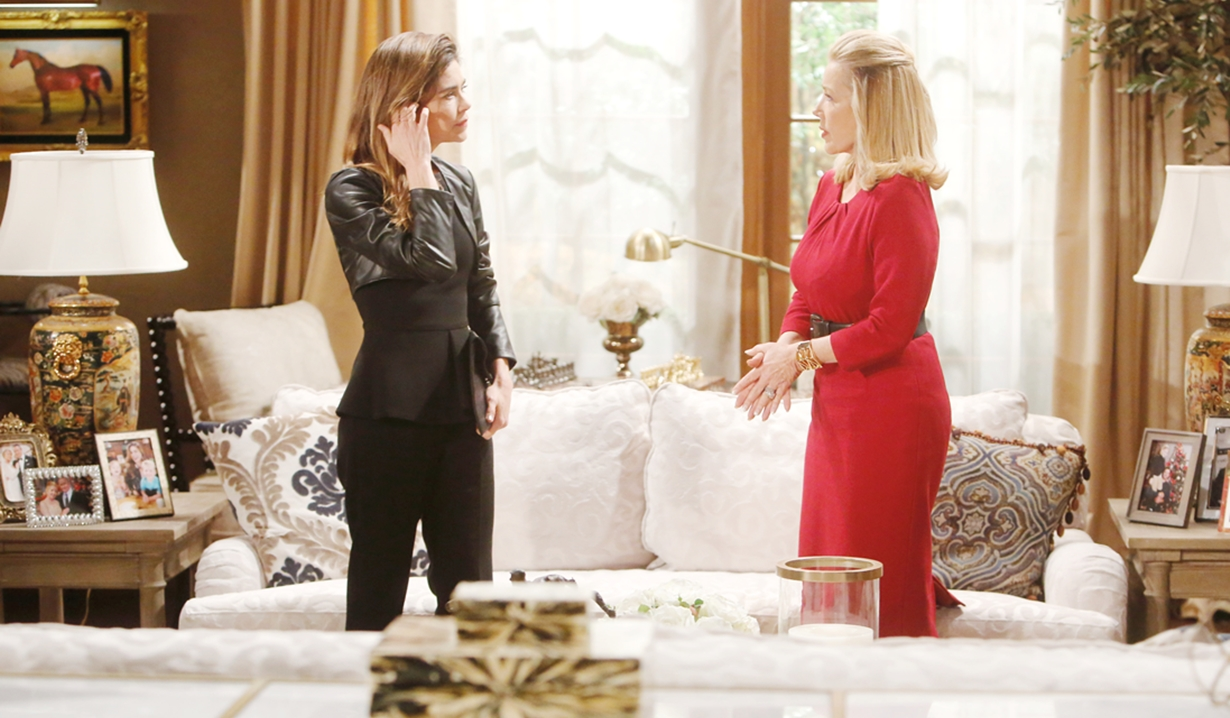 Nikki, Victoria discuss crisis Young and Restless