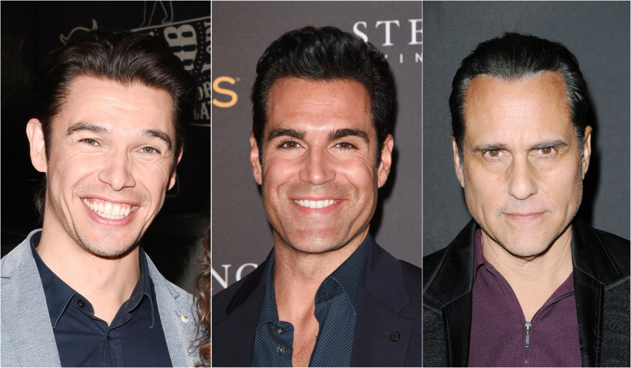 Paul Telfer Jordi Vilasuso Maurice Benard Days of our Lives General Hospital Bold and the Beautiful Young and the Restless