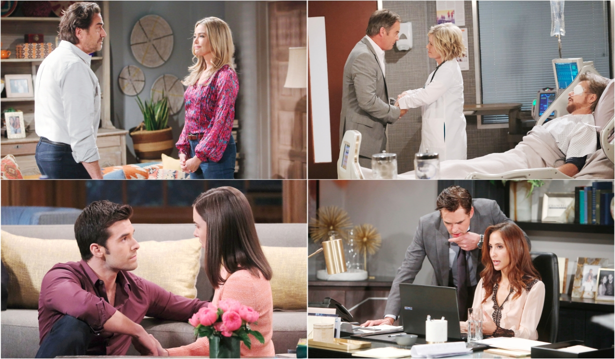 4-13-20 spoilers for bold and beautiful days of our lives general hospital young and restless