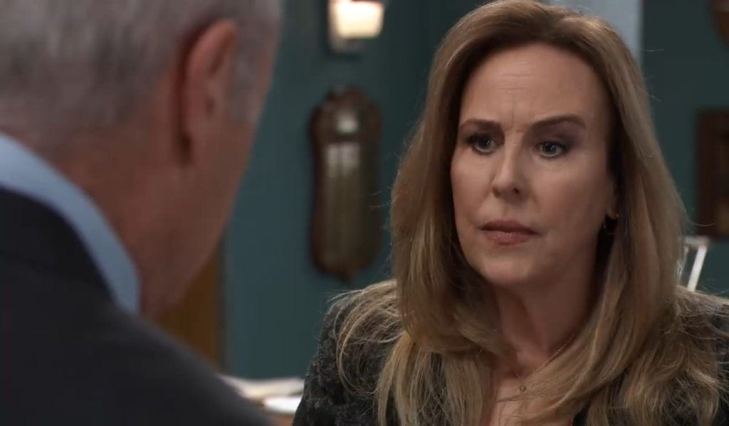 Robert and Laura discuss stopping Cyrus General Hospital