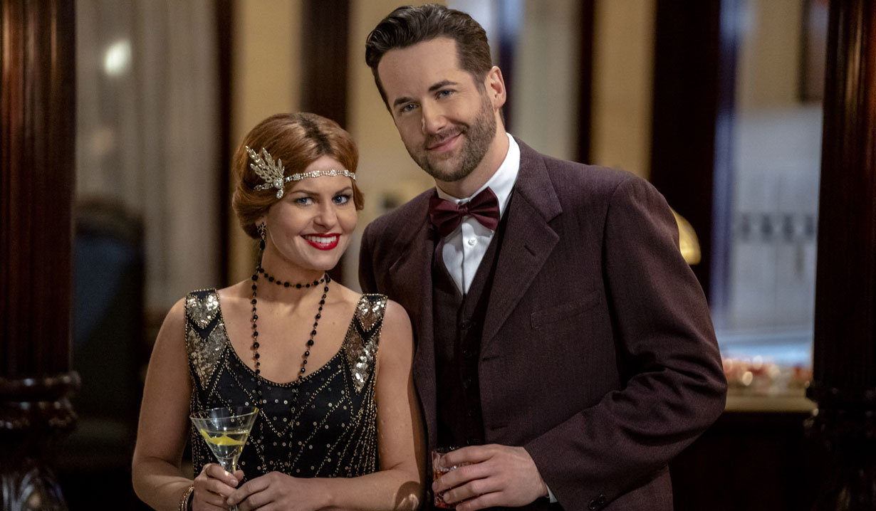 Roe and Nick at the party aurora teagarden mysteries inheritance to die for