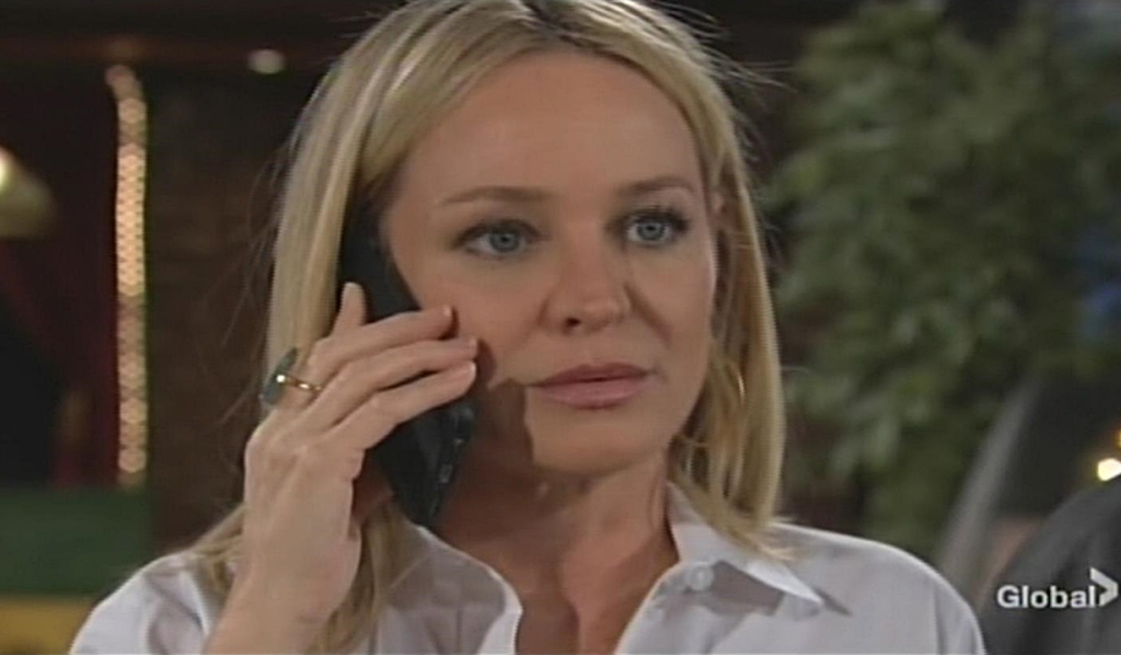 Sharon calls doctor Young and Restless