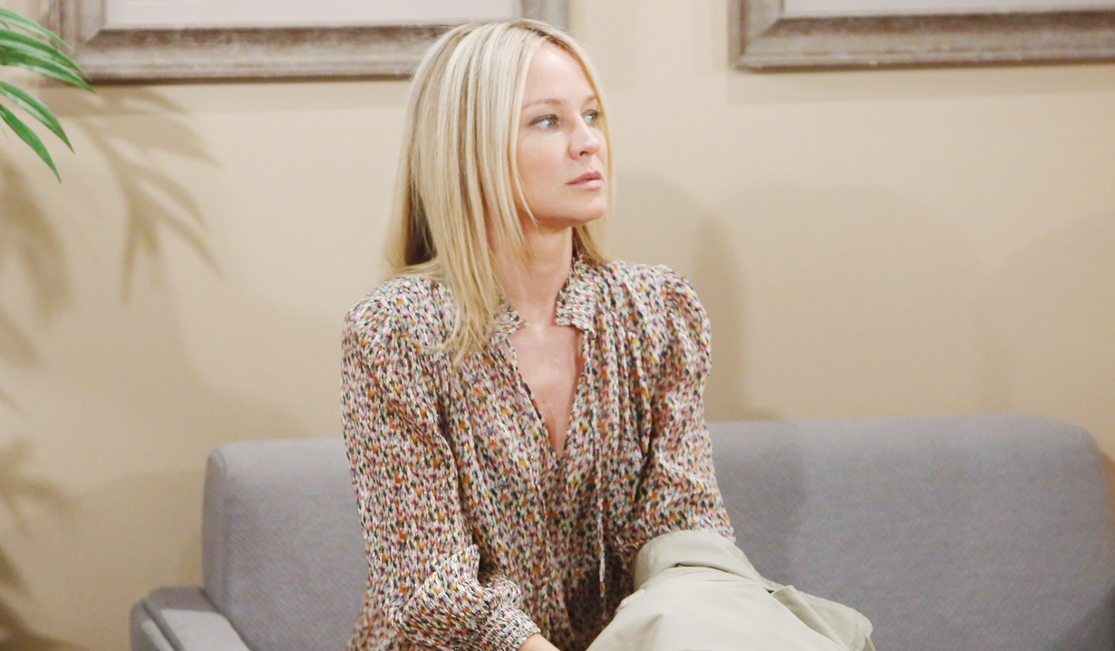 Sharon waits for scan results Young and Restless
