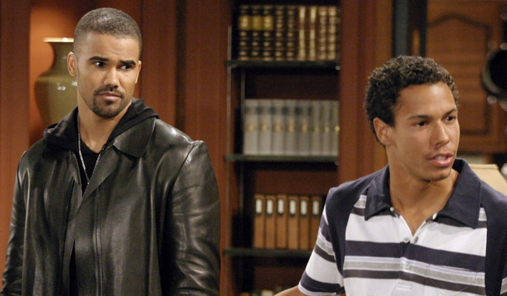 Shemar Moore, Bryton James, Malcolm, Devon, Young and Restless