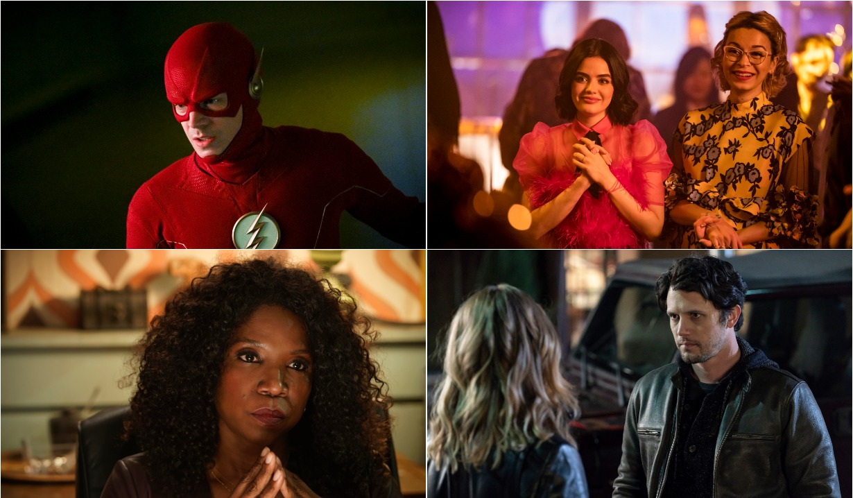 The Flash & Katy Keen Season Finales, In The Dark, Roswell NM CW Teasers week of may 10