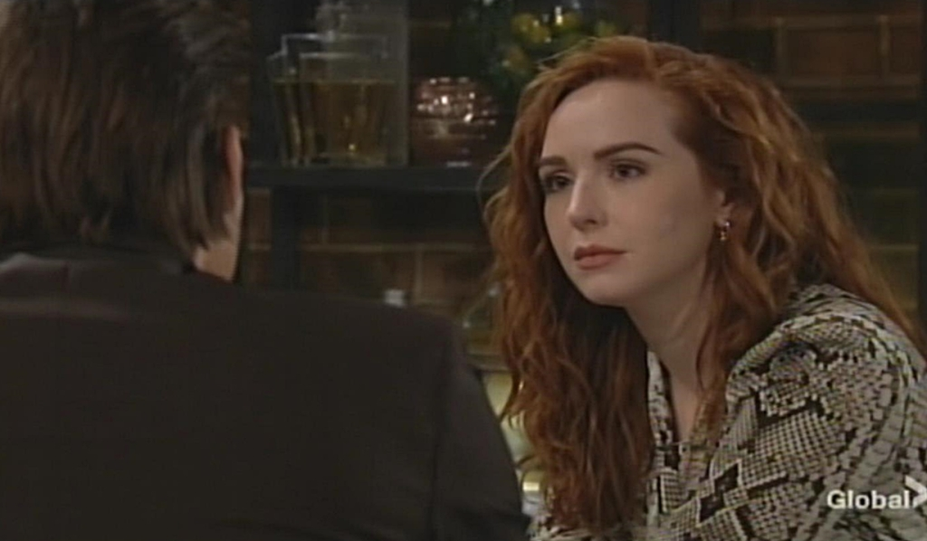 Theo confides in Mariah Young and Restless