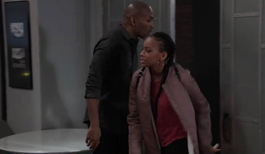 Trina looks for someone on General Hospital