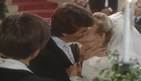 Victor, Nikki kiss wedding Young and Restless