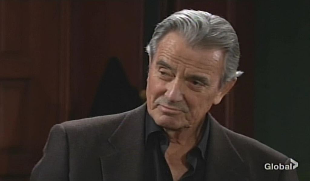 Victor smirks at Adam Young and Restless