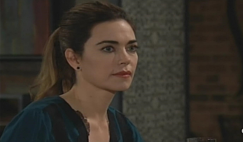 Victoria deals with Adam Young and Restless