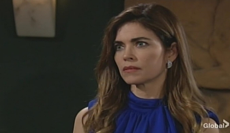 Victoria gets in Adam's face Young and Restless