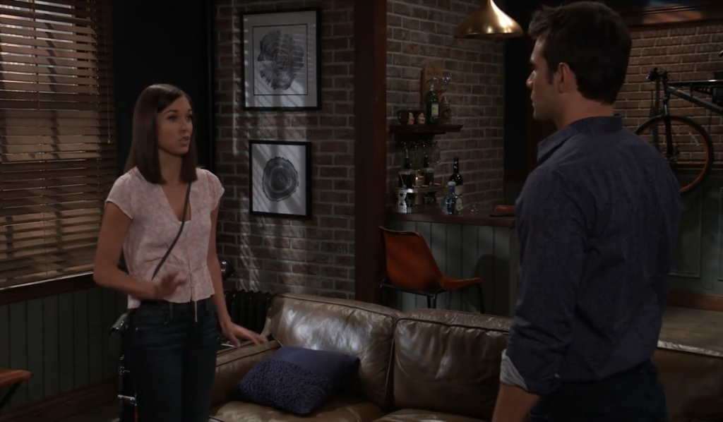 Willow tells Chase she can't hurt anymore at home General Hospital