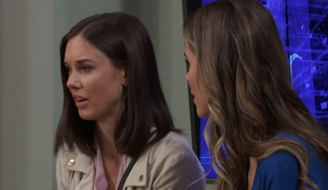 Willow tells Sasha she needs to do something at General Hospital