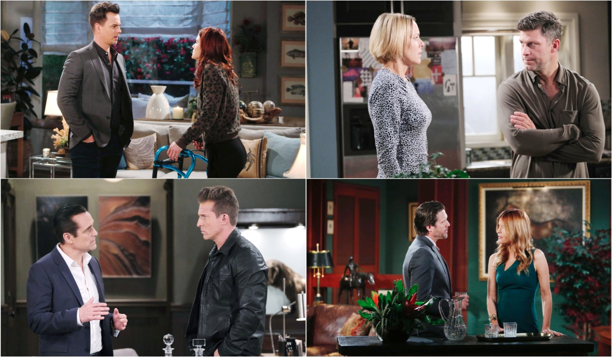 4-4-20 spoilers for bold and beautiful days of our lives general hospital young and restless