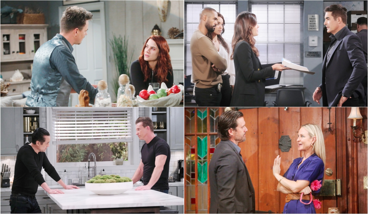4-18-19 spoilers for bold and beautiful days of our lives general hospital young and restless