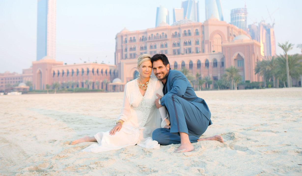 Ridge stopped Bill and Brooke's wedding Abu Dhabi Bold and Beautiful