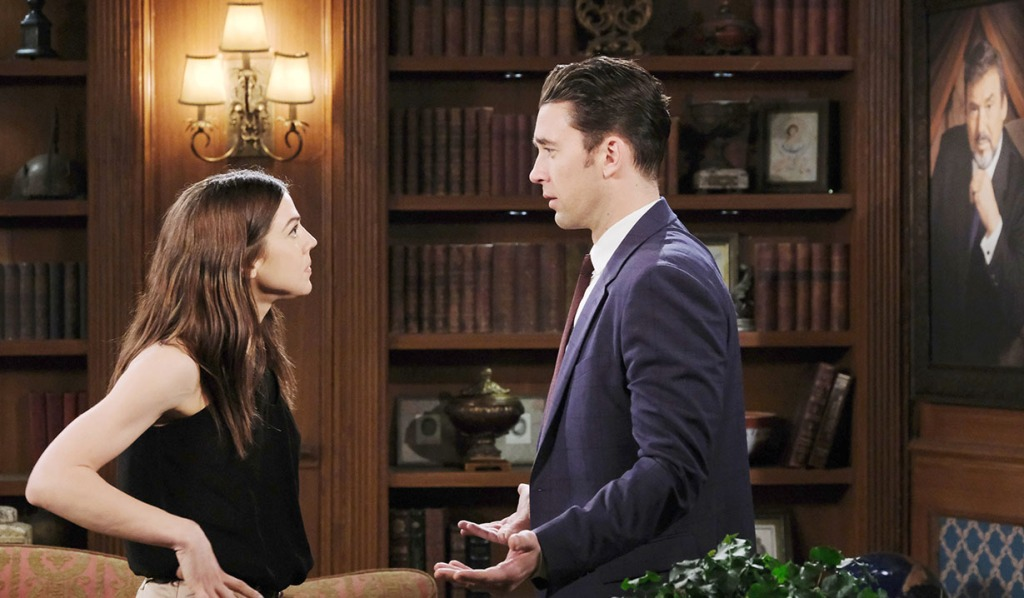 abby and chad disagree over kidnapping days of our lives