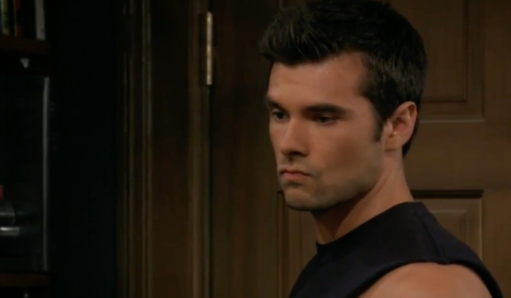 Chase has memories of Willow on General Hospital