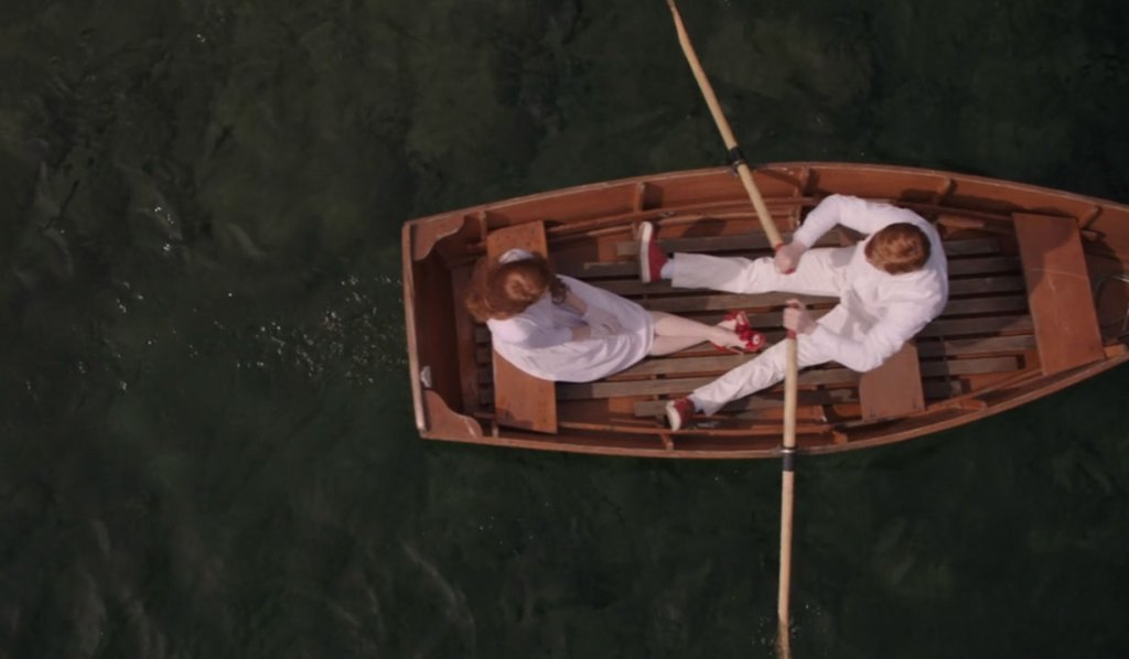 Jason and Cheryl's boat ride on Riverdale