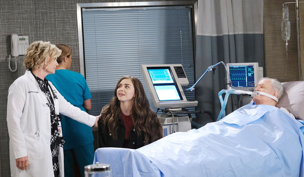 ciara visits victor in hospital days of our lives