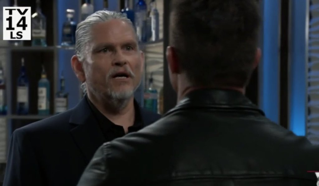Cyrus has a message for Sonny on General Hospital