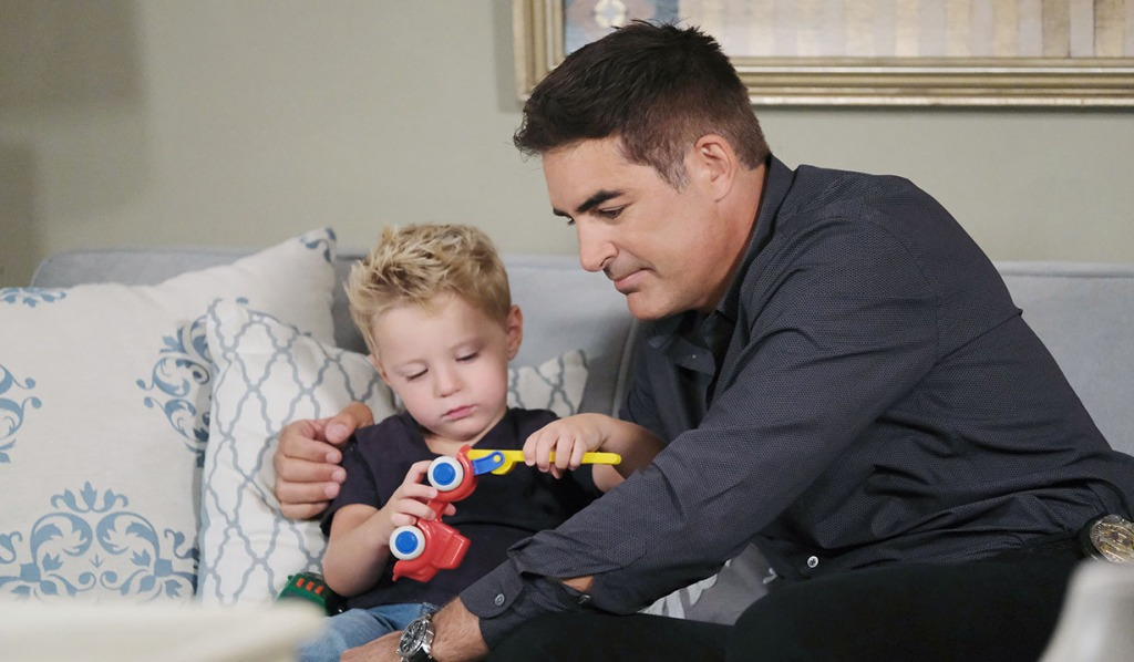 Rafe with David at home days of our lives