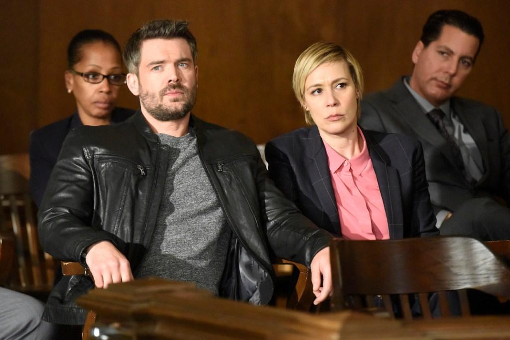 Frank and Bonnie in court on HTGAWM