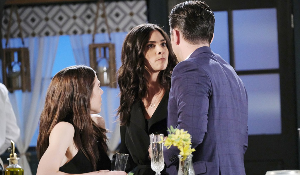 gabi freaks out at chad days of our lives