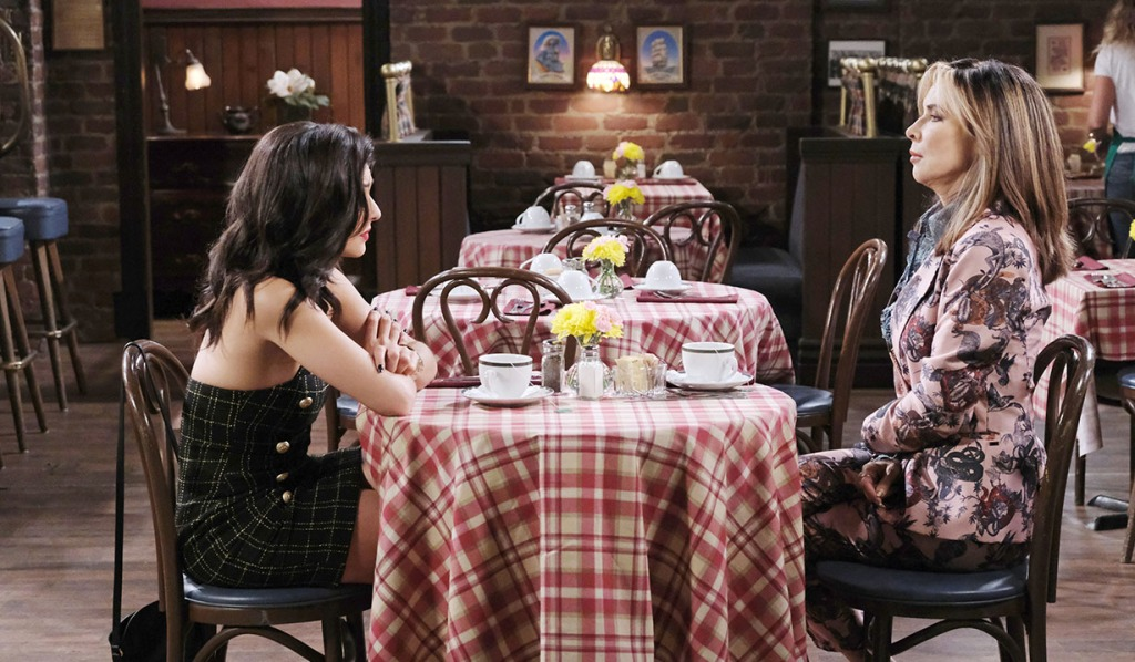 gabi and kate lunch pub days of our lives