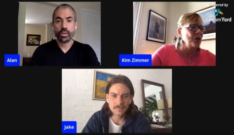 Guiding Light live stream with Kim Zimmer and Jake Weary